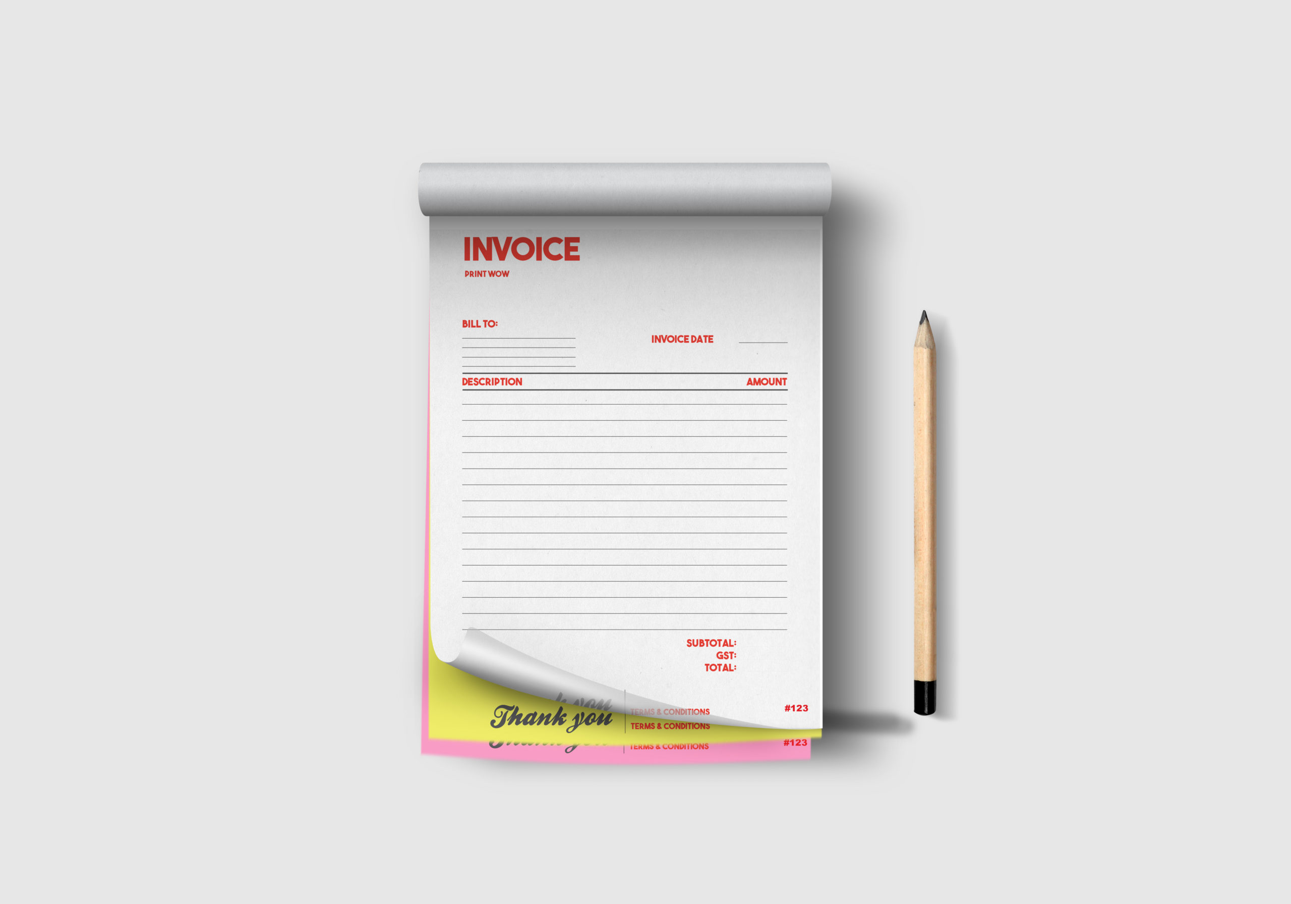 Office Stationery NCR Forms