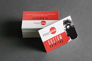 Print Wow Basic Business Cards
