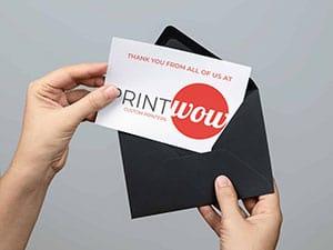 Custom Greeting Cards by Print Wow