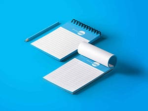 Half Page Notepads   PrintWow