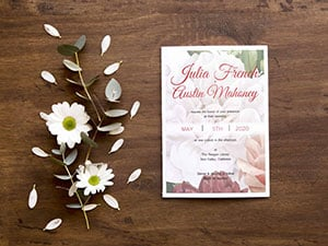 Custom Invitation Cards by Print Wow