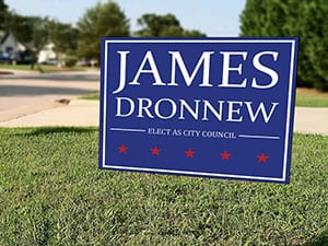 Custom Lawn Signs by Print Wow